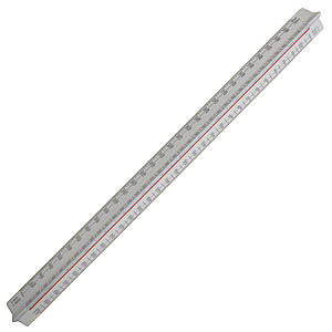 300mm Metric 'A' Triangular Scale Rule