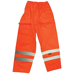Orange Hi-Vis Motorway Trouser - Large
