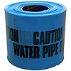 150mm x 365m Underground Tape - 'Caution Water Pipe Below'