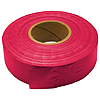 30mm x 46m PVC Flagging Tape - Glo Red