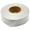 30mm x 91m PVC Flagging Tape - White