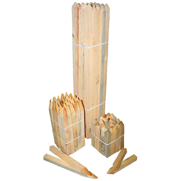 500mm Timber Survey Pegs Pack Of 25