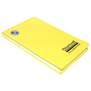 130 x 205 Field Book - 1/10th & 1/2'' Graph, 2 Centre Lines