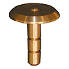 38mm Brass Raised Survey Marker