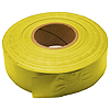 30mm x 91m PVC Flagging Tape - Yellow