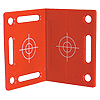 Red Right Angled Wall Target