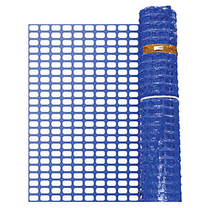 Barrier Fencing - Blue - 50m Roll