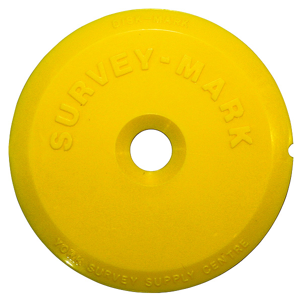 York Survey Supply Centre Disk Mark Kit Yellow