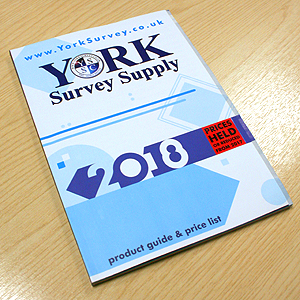 Has York Survey's New Catalogue Reached Your Desk Yet?
