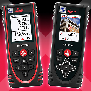 Leica Geosystems introduces new laser distance meters