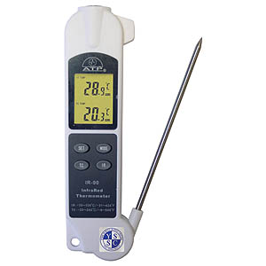 2-in-1 Thermometer c/w Penetration Probe
