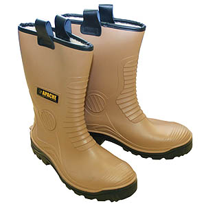 PVC Waterproof Rigger Boot - Size 12