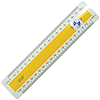 150mm No. 2 Oval Metric Scale Rule