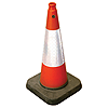 750mm Reflective Traffic Cone