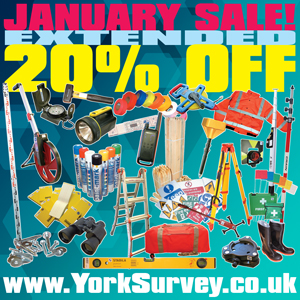 York Survey Have Extended Their January Sale!