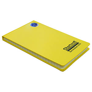 130 x 205mm Field Book - Ruled 2 Centre Lines, Feints