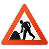 750mm Sign Face - Men At Work