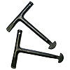 150mm 'T' Handle Manhole Keys (pair)