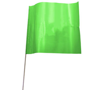 Flag-Mark - Green (pack of 100)