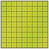 25mm Retro-Mark - Yellow (sheet of 81)