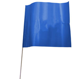 Flag-Mark - Blue (pack of 100)