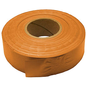 30mm x 91m PVC Flagging Tape - Orange