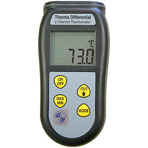 Therma Differential K-Type Thermometer
