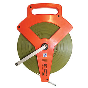 100m Calibrated Steel Tape - Claw End
