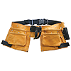 Deluxe Leather Tool Belt