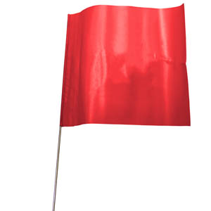 Flag-Mark - Red (pack of 100)