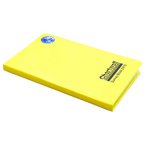 192 x 120mm Rise & Fall Survey Book