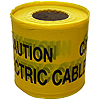 150mm x 365m Underground Tape - 'Caution Electric Cable Below'