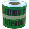 150mm x 365m Underground Tape - 'Caution Telephone Cable Below'