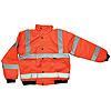 Hi-Vis Bomber Jacket - Orange - Medium