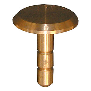38mm Brass Flat Survey Marker