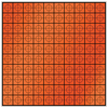 20mm Retro-Mark - Orange (sheet of 100)