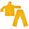 2 Piece Yellow Wetsuit - Small