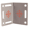 Grey Right Angled Wall Target