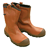 Liberia Leather Rigger Boot - Size 6