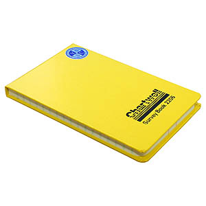 106 x 165mm Field Book - Ruled 2 Centre Lines, Feints
