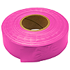 30mm x 46m PVC Flagging Tape - Fluorescent Pink