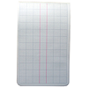 106 x 165 Field Book - 1/10th & 1/2'' Graph, 2 Centre Lines