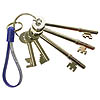 Fire Brigade Keys Set