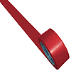 33m x 50mm Heavy Duty Floor Tape - Red